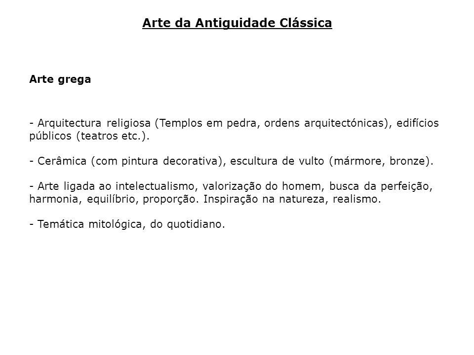 Arte da Antiguidade Clássica