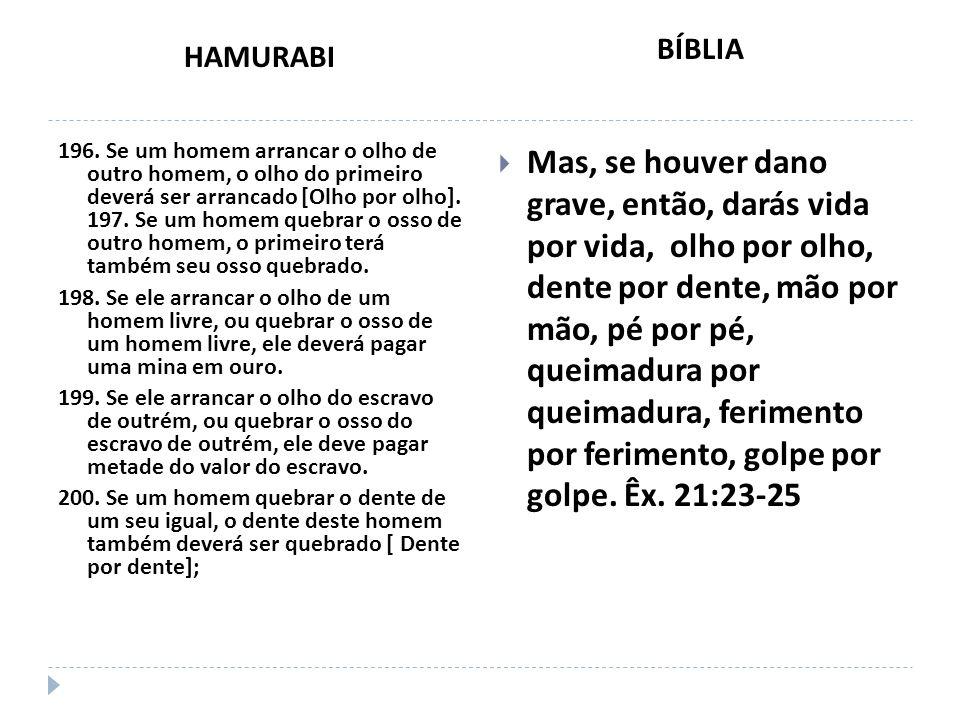 HAMURABI BÍBLIA.