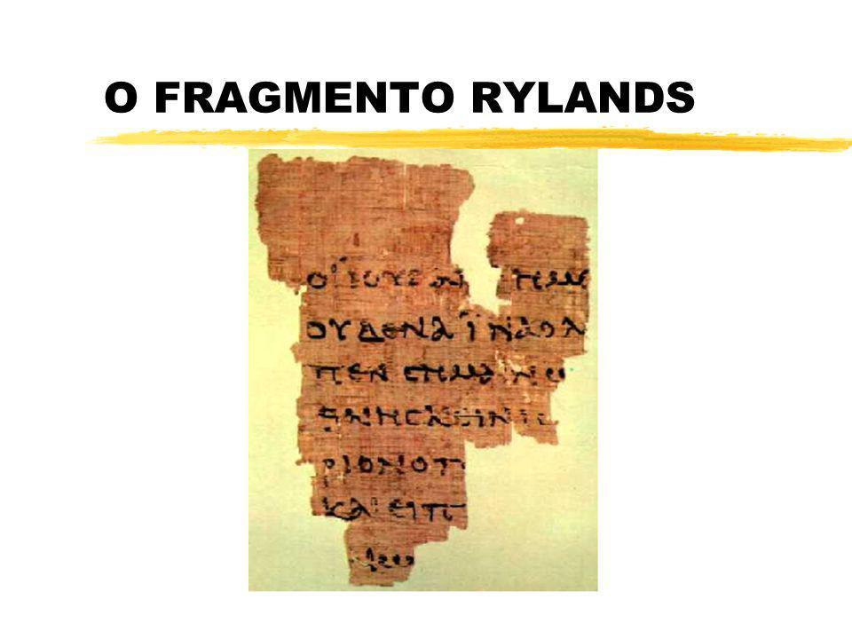 O FRAGMENTO RYLANDS