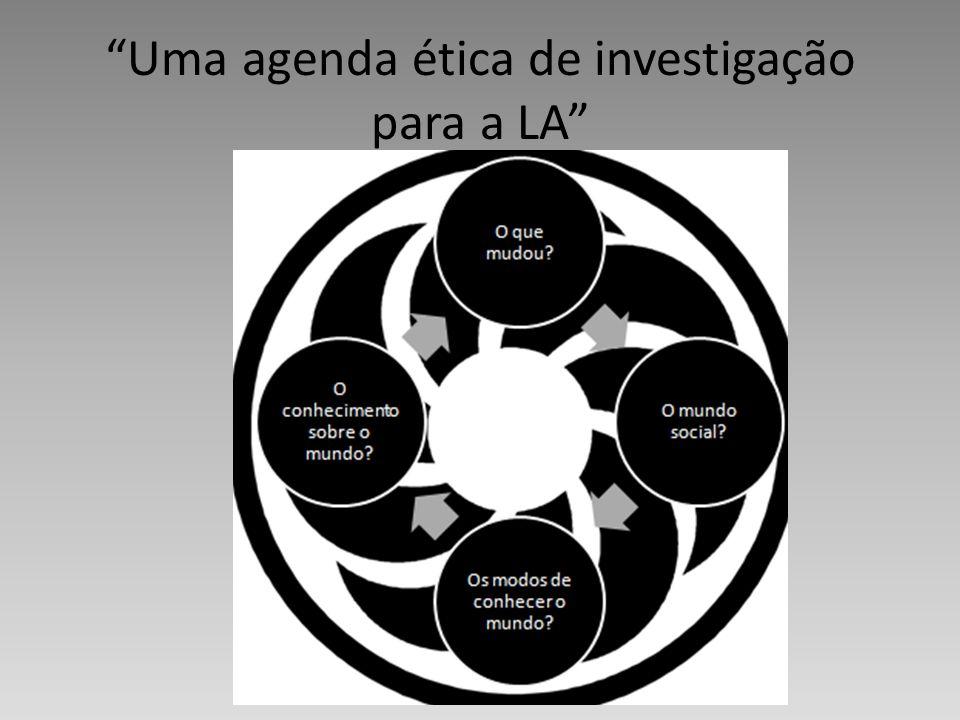 Uma agenda ética de investigação para a LA