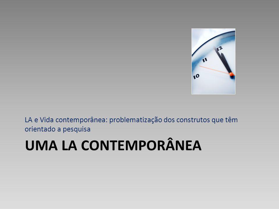 LA e Vida contemporânea: problematização dos construtos que têm orientado a pesquisa