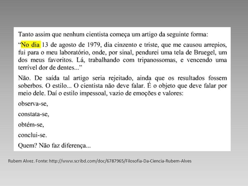 Rubem Alvez. Fonte: http://www. scribd
