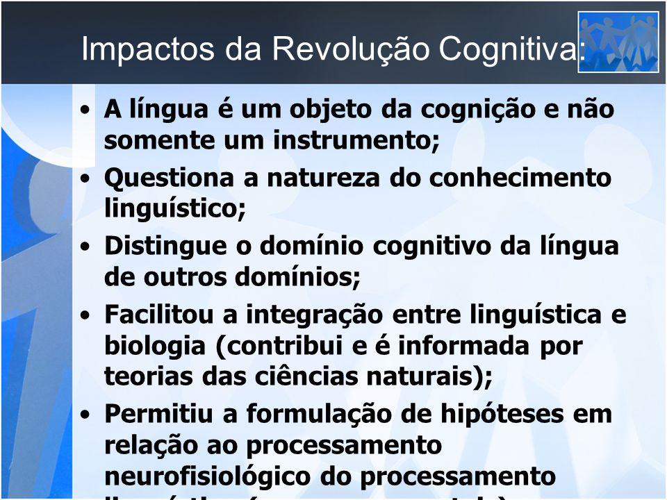Impactos da Revolução Cognitiva: