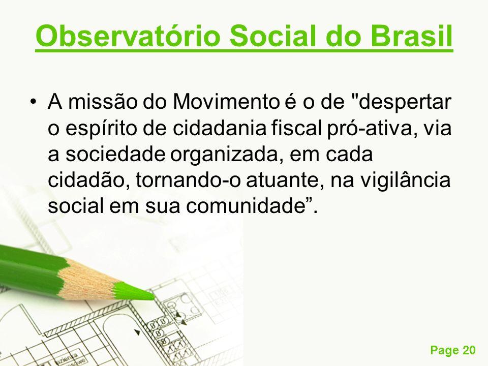 Observatório Social do Brasil