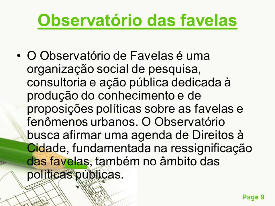 Observatório das favelas