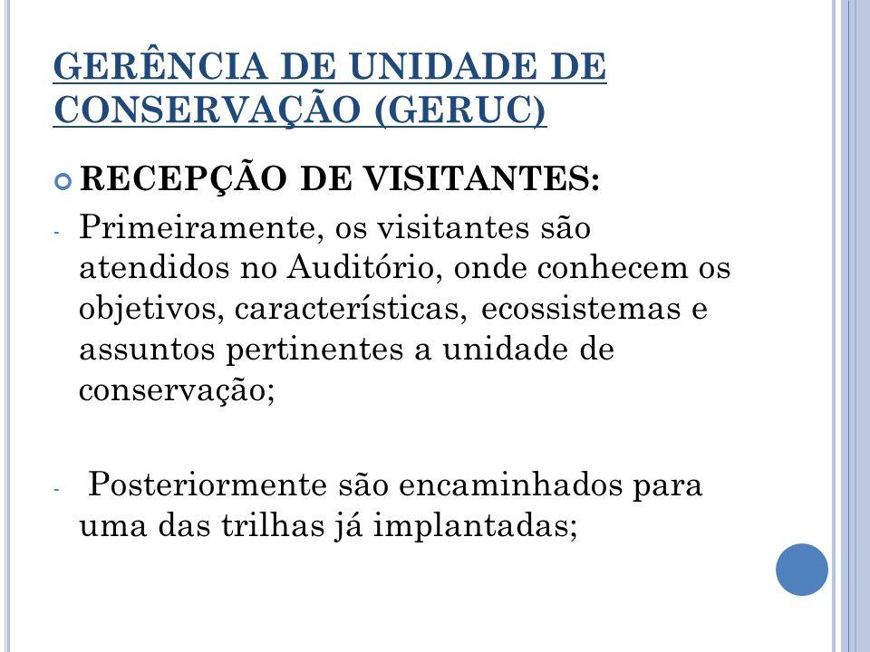 GERÊNCIA DE UNIDADE DE CONSERVAÇÃO (GERUC)
