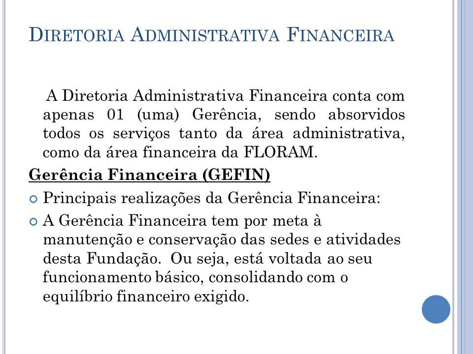Diretoria Administrativa Financeira