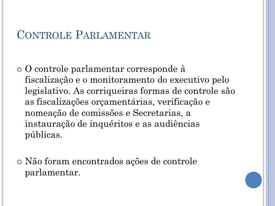 Controle Parlamentar