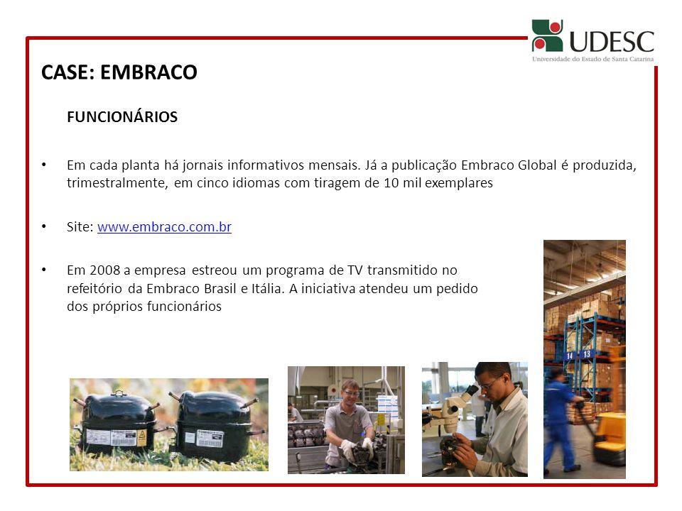 CASE: EMBRACO FUNCIONÁRIOS
