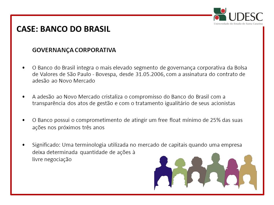 CASE: BANCO DO BRASIL GOVERNANÇA CORPORATIVA