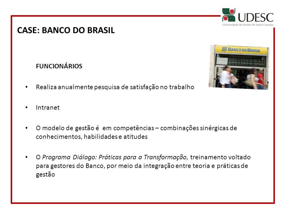 CASE: BANCO DO BRASIL FUNCIONÁRIOS