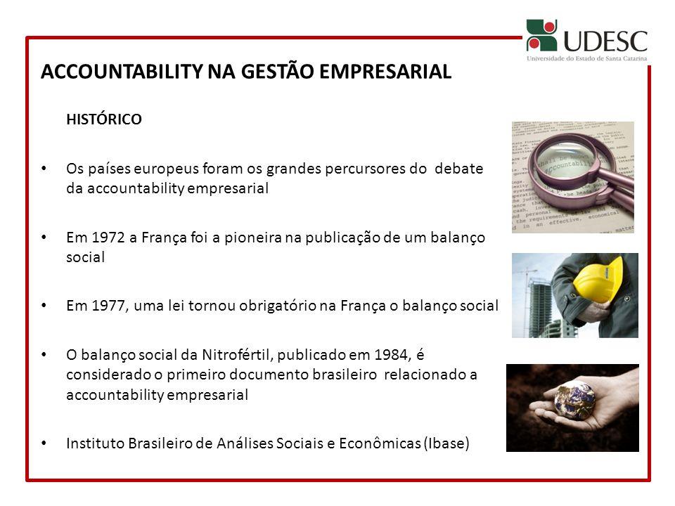 ACCOUNTABILITY NA GESTÃO EMPRESARIAL