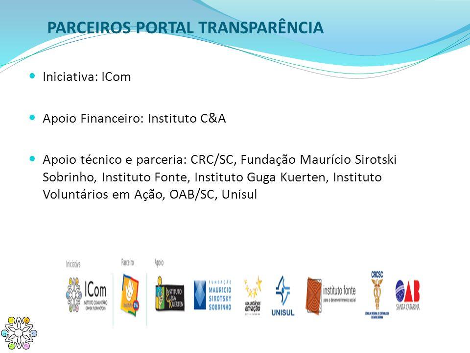 PARCEIROS PORTAL TRANSPARÊNCIA