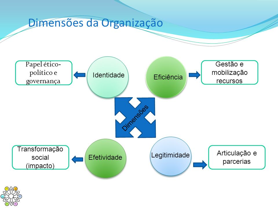 Dimensões da Organização