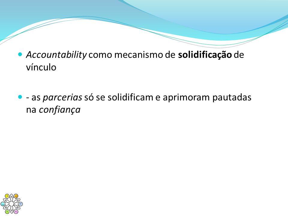 Accountability como mecanismo de solidificação de vínculo