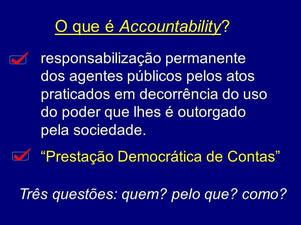 O que é Accountability