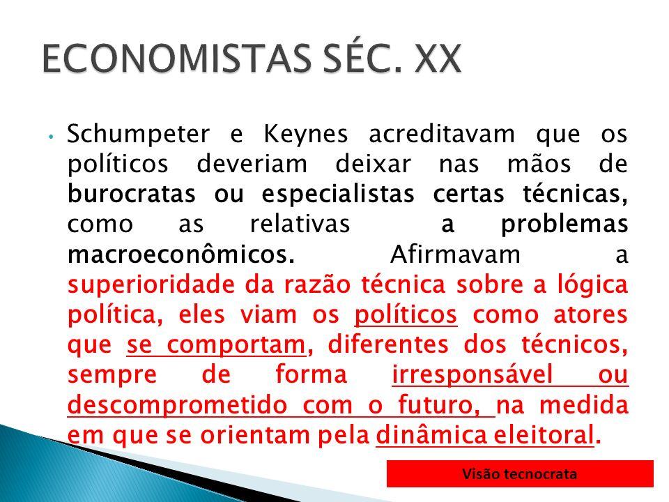 ECONOMISTAS SÉC. XX