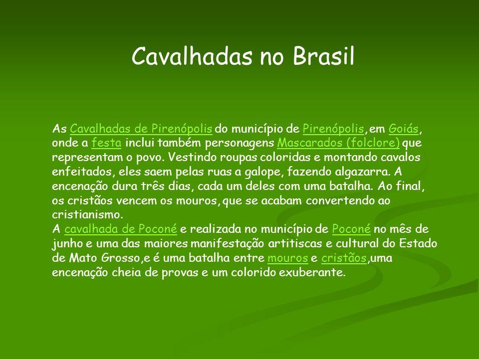 Cavalhadas no Brasil