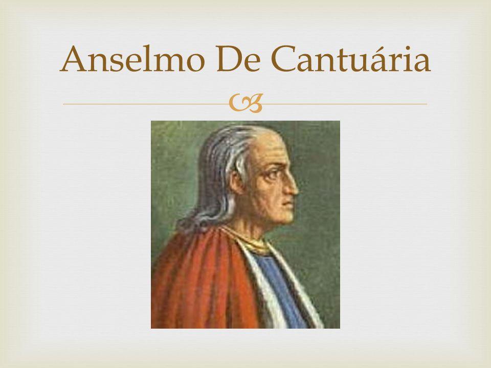 Anselmo De Cantuária