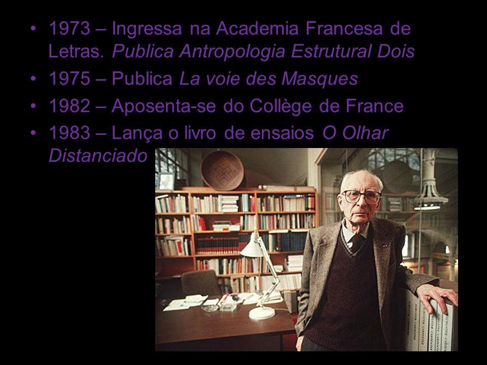 1973 – Ingressa na Academia Francesa de Letras