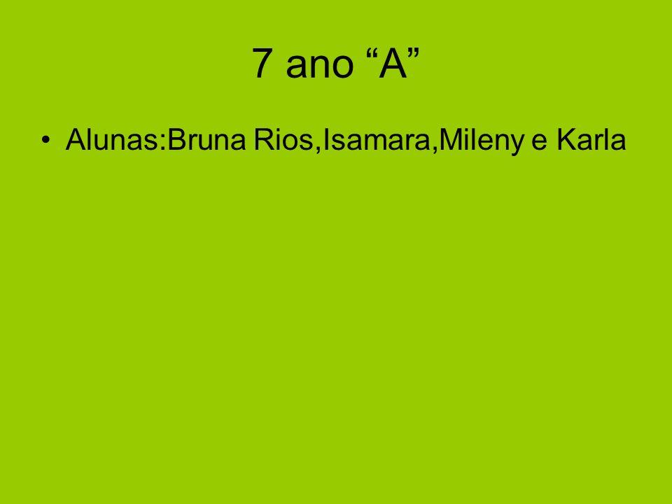 7 ano A Alunas:Bruna Rios,Isamara,Mileny e Karla