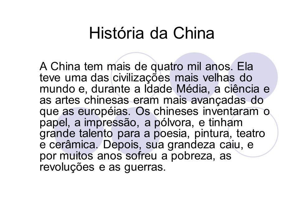 História da China