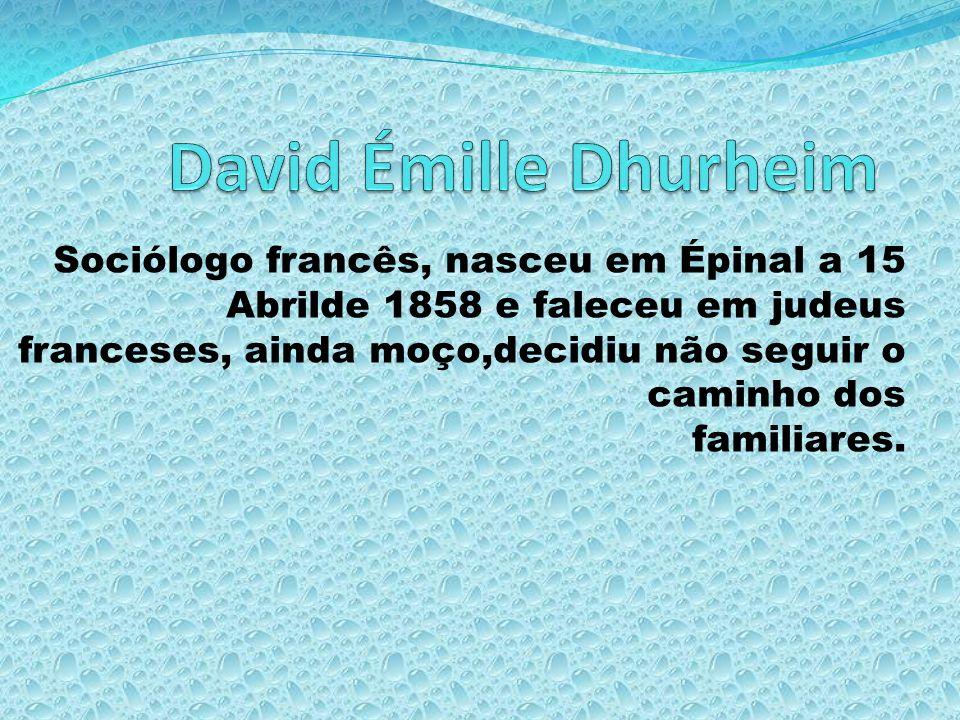 David Émille Dhurheim