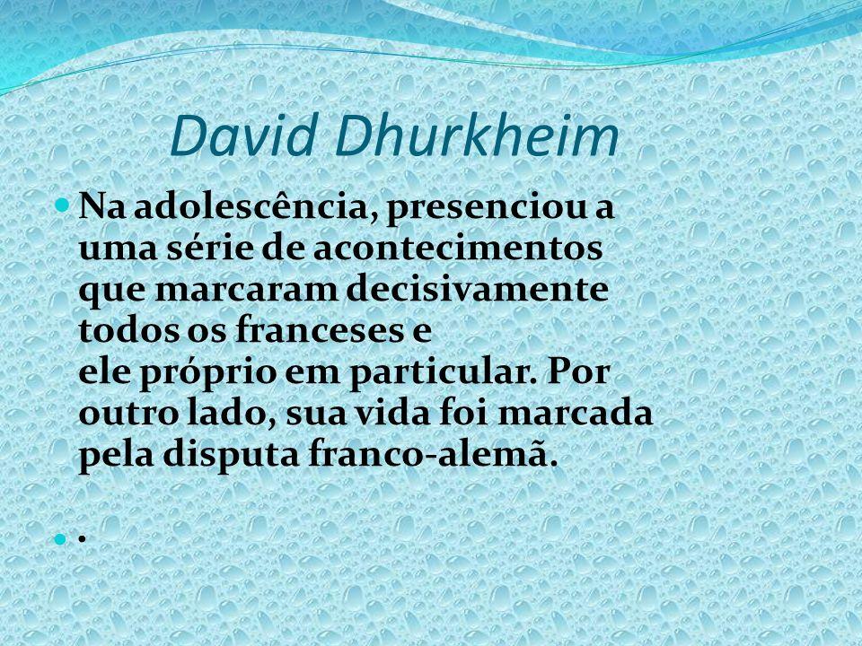 David Dhurkheim