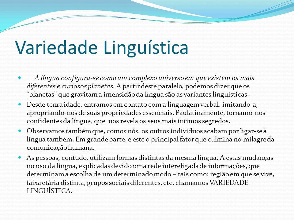 Variedade Linguística