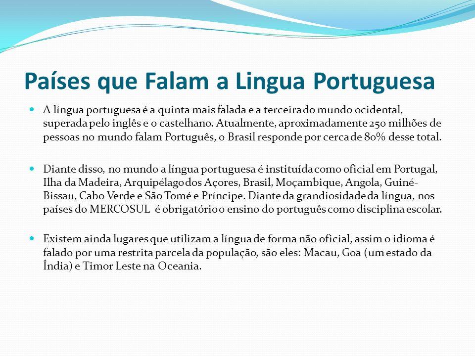 Países que Falam a Lingua Portuguesa