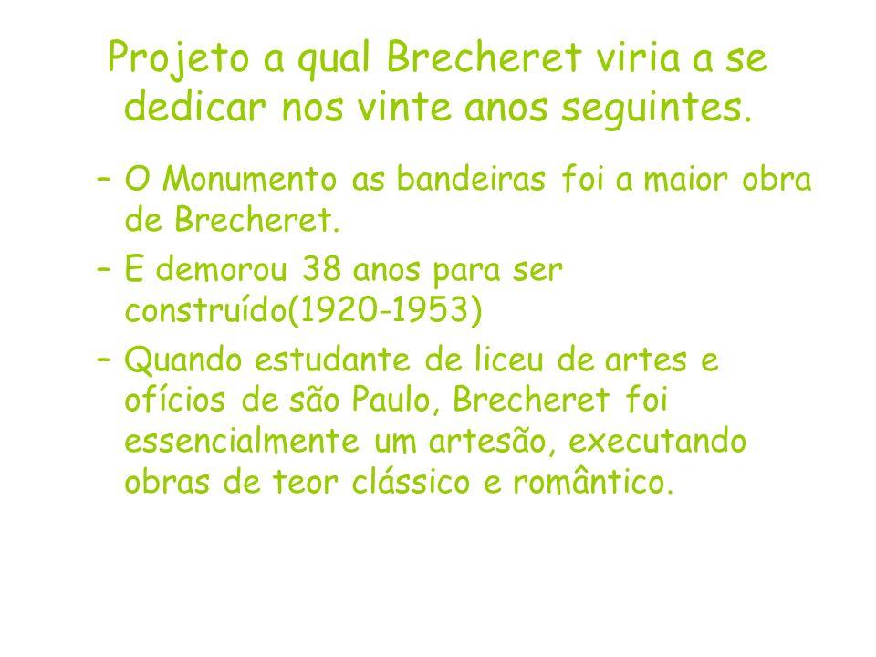Projeto a qual Brecheret viria a se dedicar nos vinte anos seguintes.