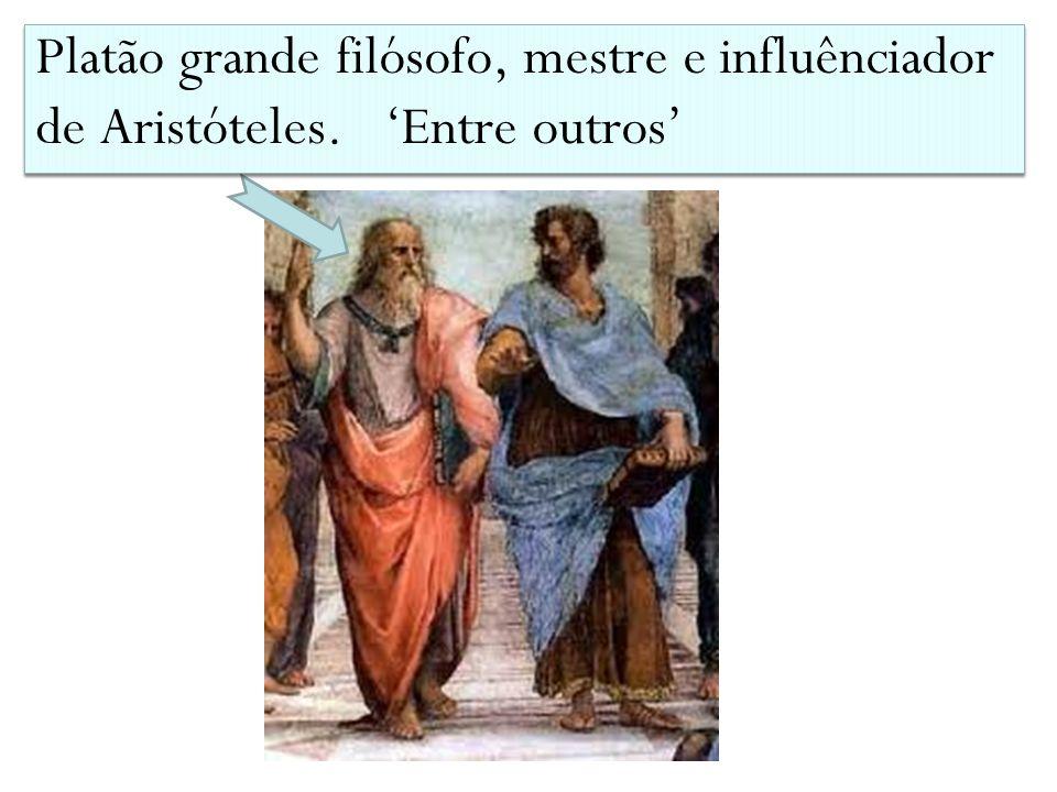 Platão grande filósofo, mestre e influênciador de Aristóteles