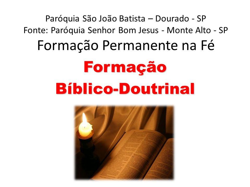 Formação Bíblico-Doutrinal