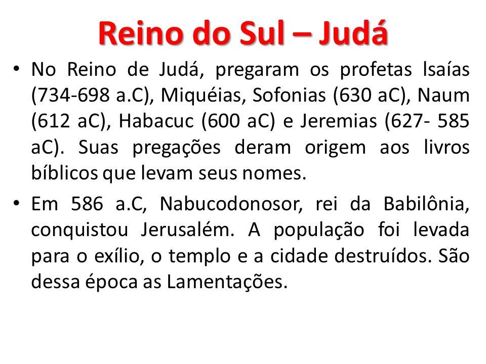 Reino do Sul – Judá