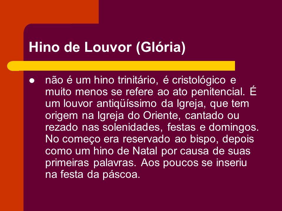 Hino de Louvor (Glória)