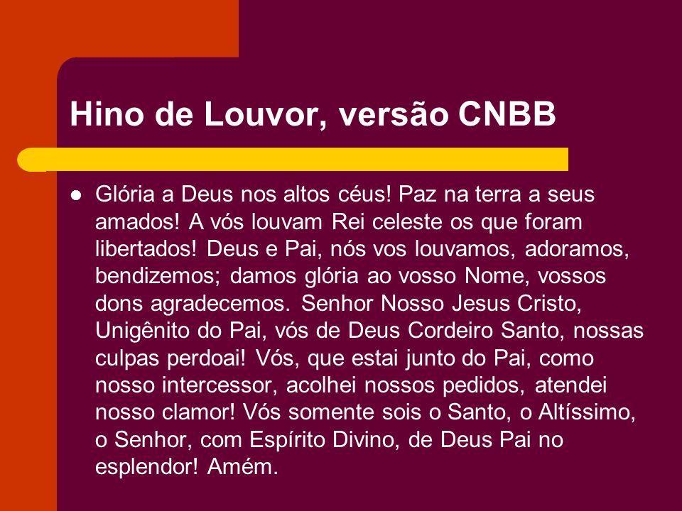 Hino de Louvor, versão CNBB