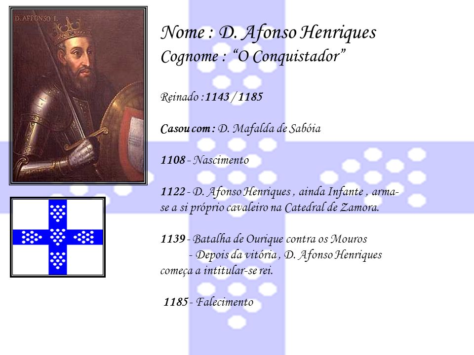 Nome : D. Afonso Henriques