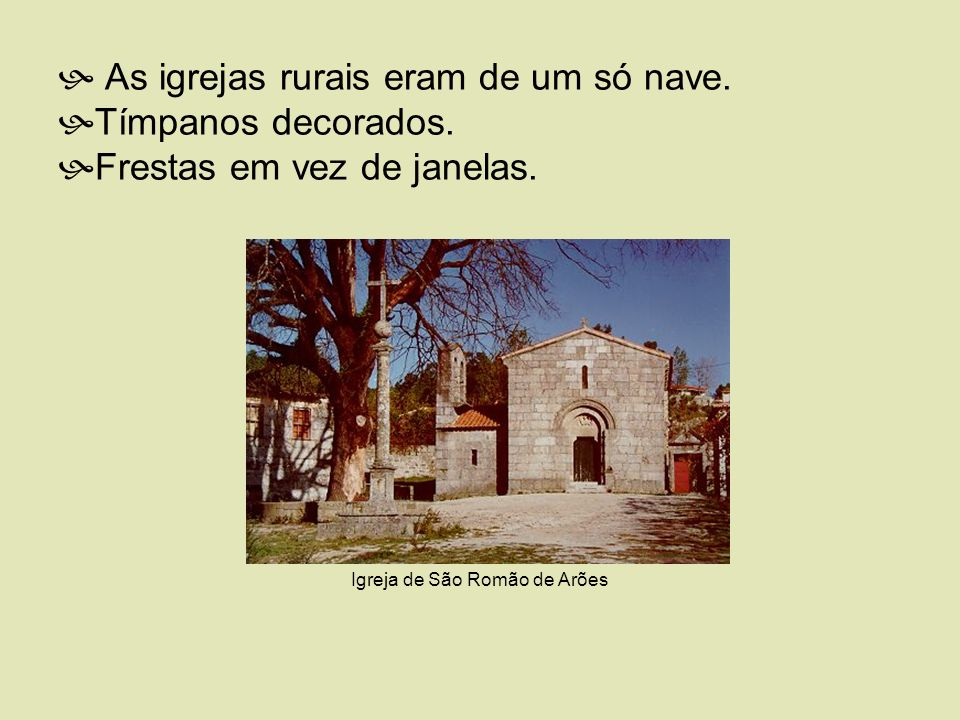 Igreja de São Romão de Arões