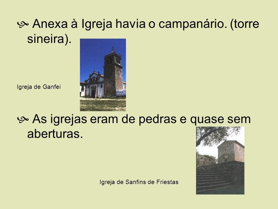 Igreja de Sanfins de Friestas