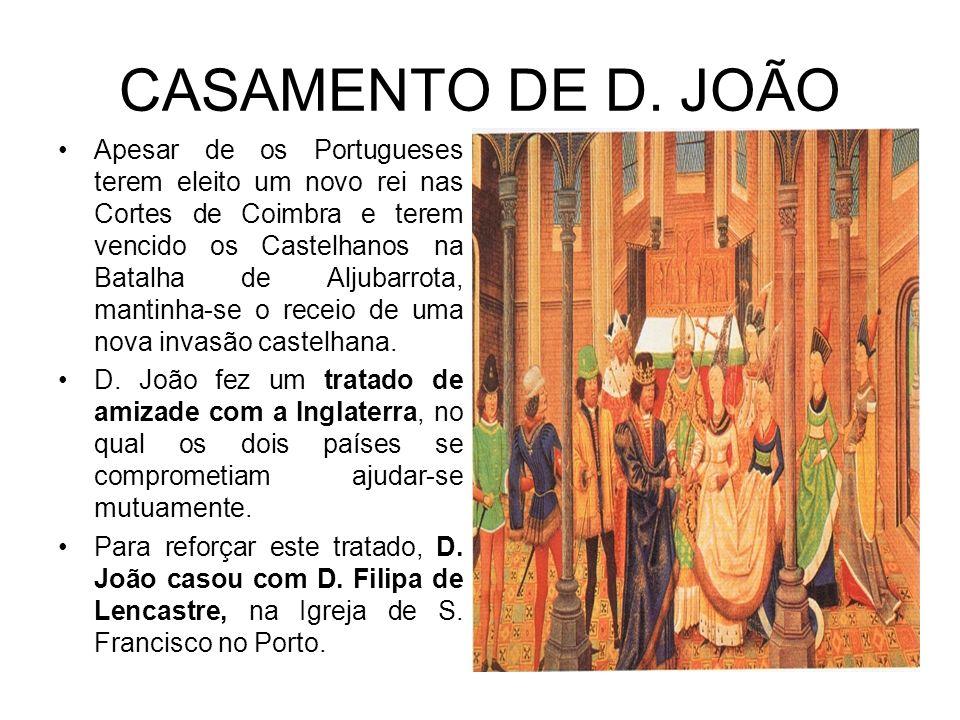 CASAMENTO DE D. JOÃO