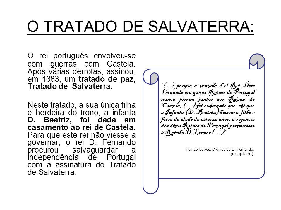 O TRATADO DE SALVATERRA: