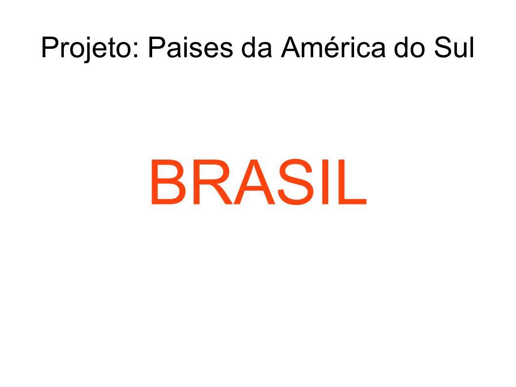 Projeto: Paises da América do Sul