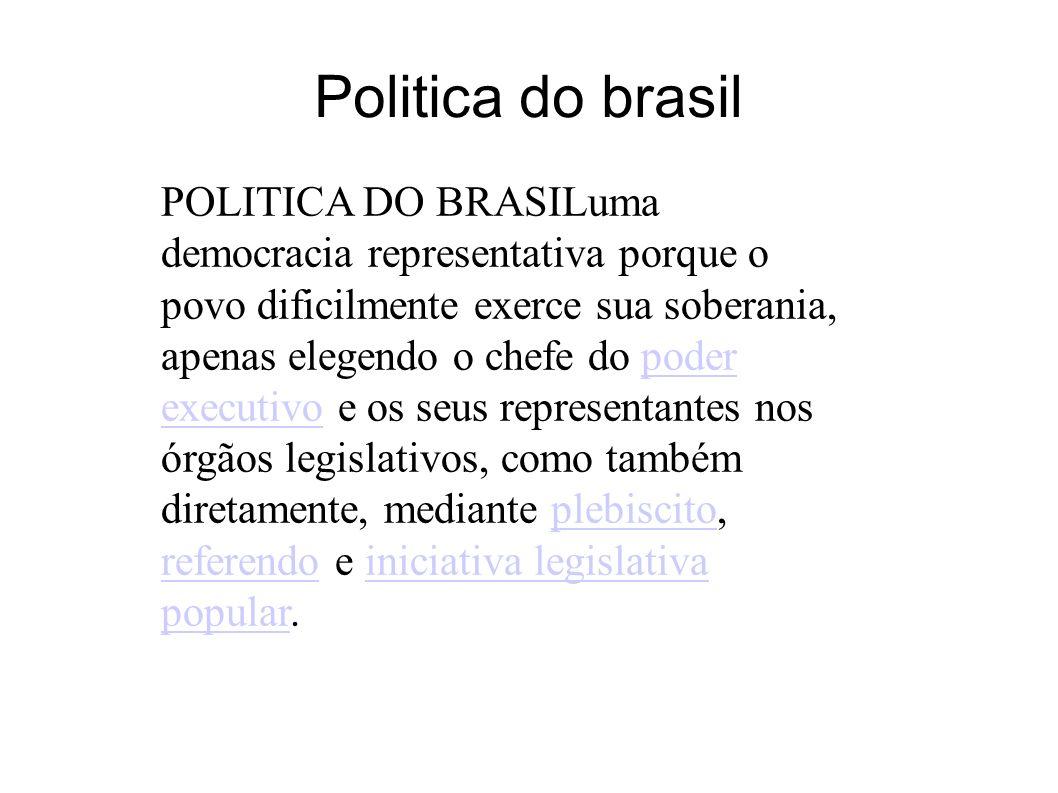 Politica do brasil