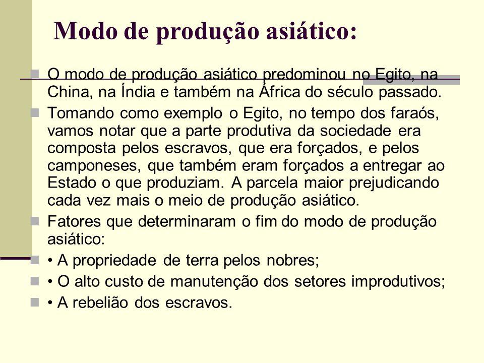 Modo de produção asiático:
