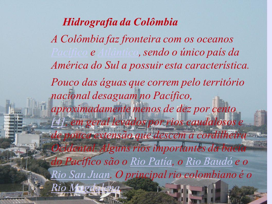 Hidrografia da Colômbia