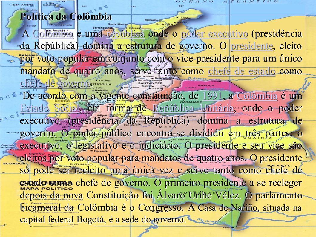Política da Colômbia