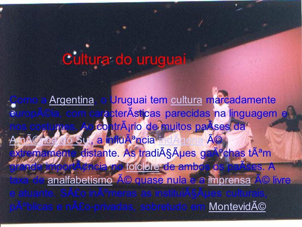 Cultura do uruguai