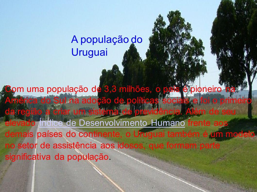 Fontwork A população do Uruguai