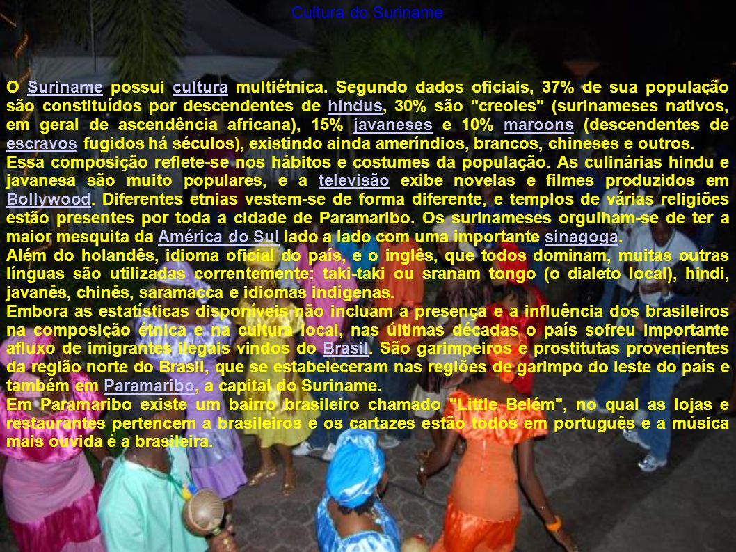 Cultura do Suriname