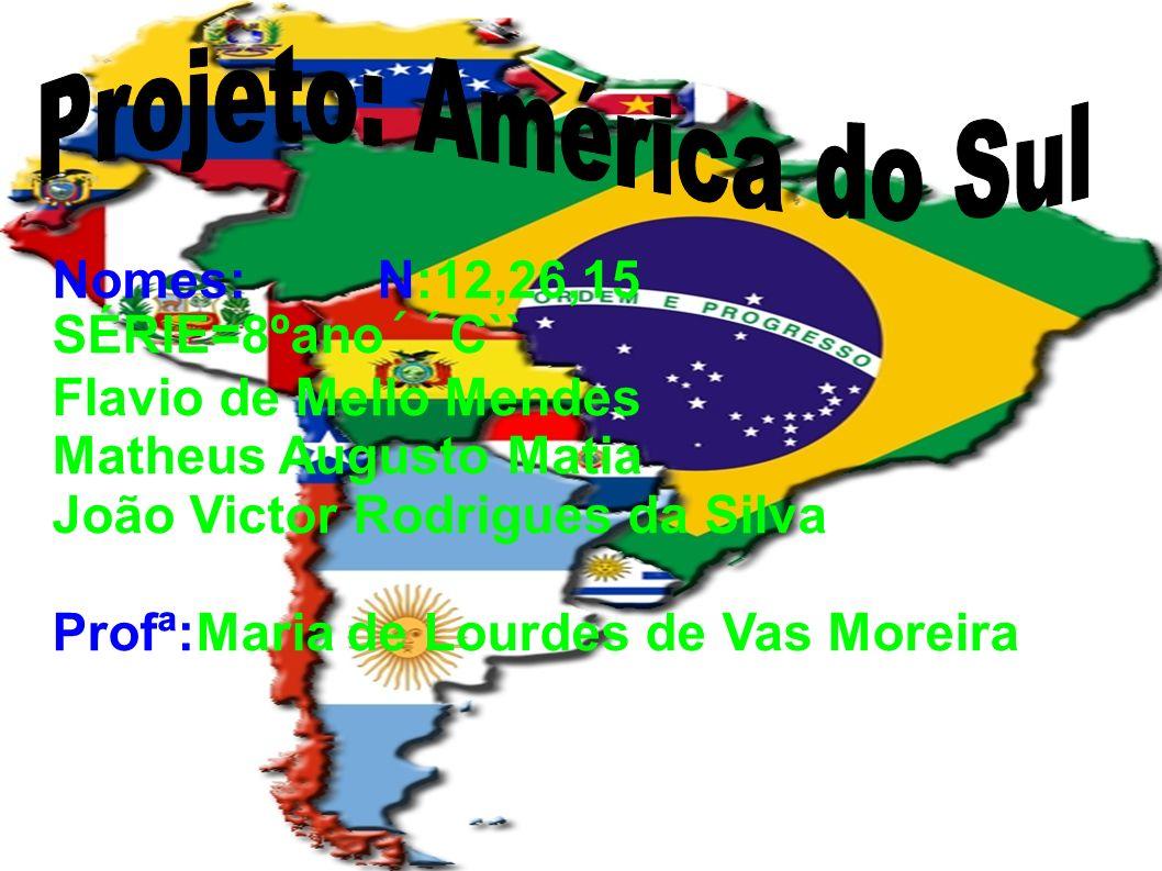 Projeto: América do Sul